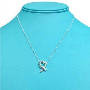 Tiffany&Co Loving Heart Necklace